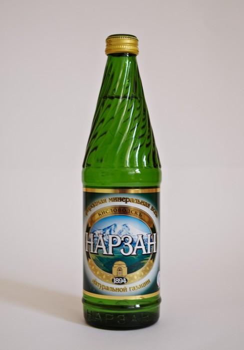 Минеральная вода Нарзан 0,5л
