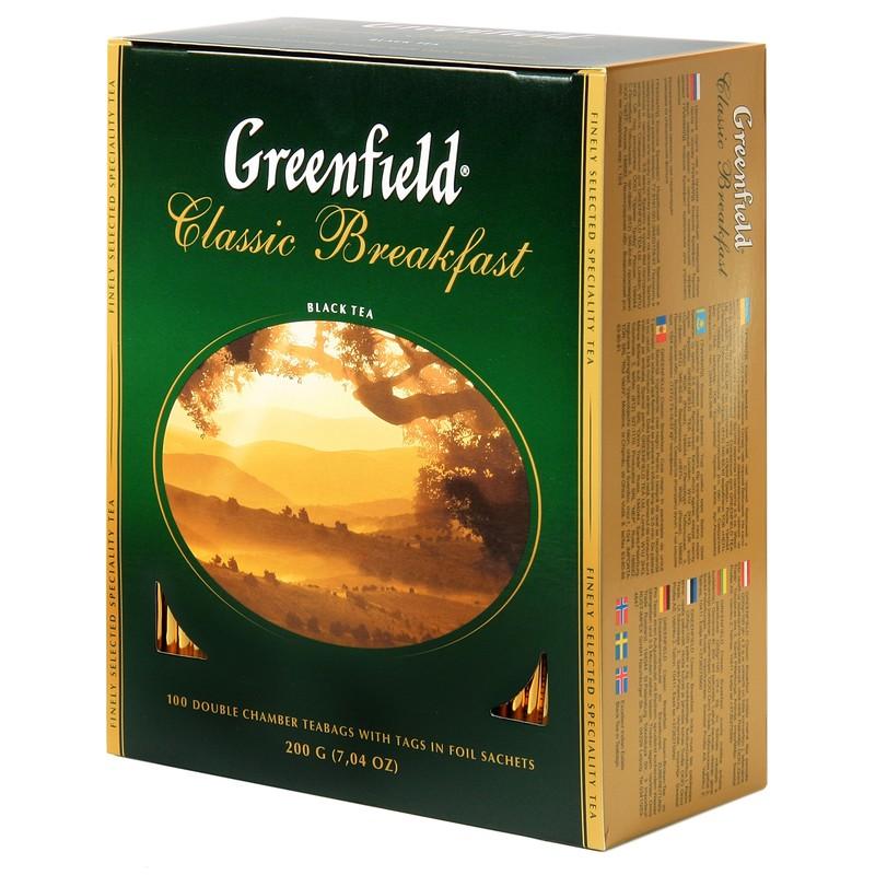 Greenfild. Чай черный Classic Breakfast.