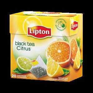 Lipton. Чай Липтон цитрусовый.