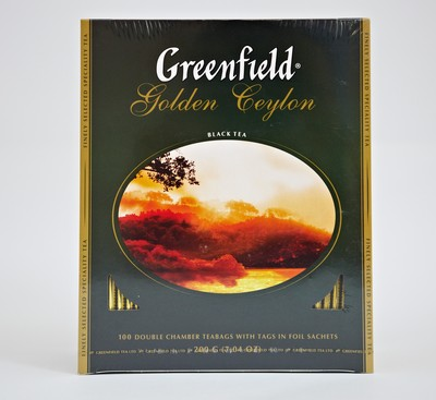 Greenfild. Чай черный Golden Ceylon.